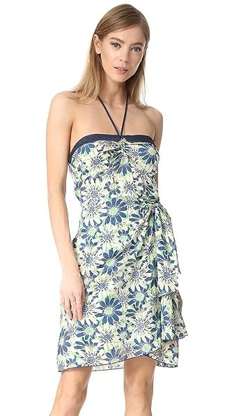 Anna Sui Daisies Halter Dress