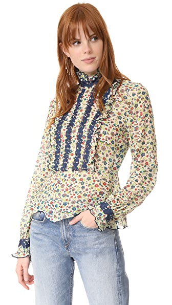 Anna Sui Birds Blouse