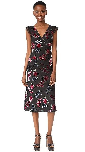 Anna Sui Rose Maxi Dress