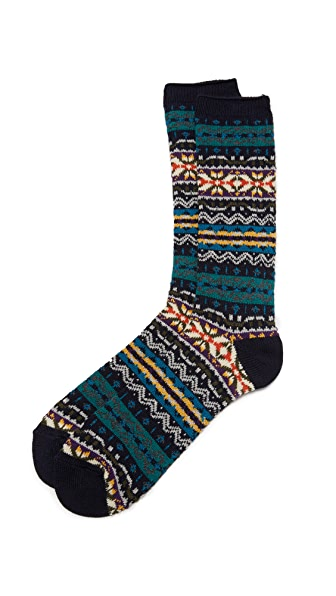 Anonymous Ism Fair Isle Crew Socks