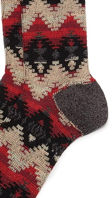 Anonymous Ism Tribal JQ Crew Socks