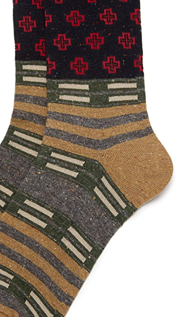 Anonymous Ism Tribal Joint Crew Socks