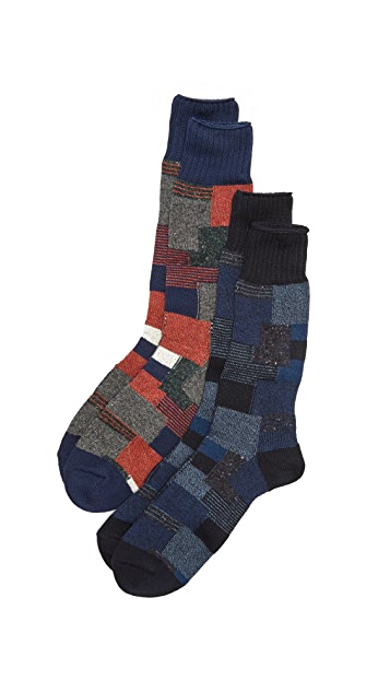 Anonymous Ism 2 Pack Socks