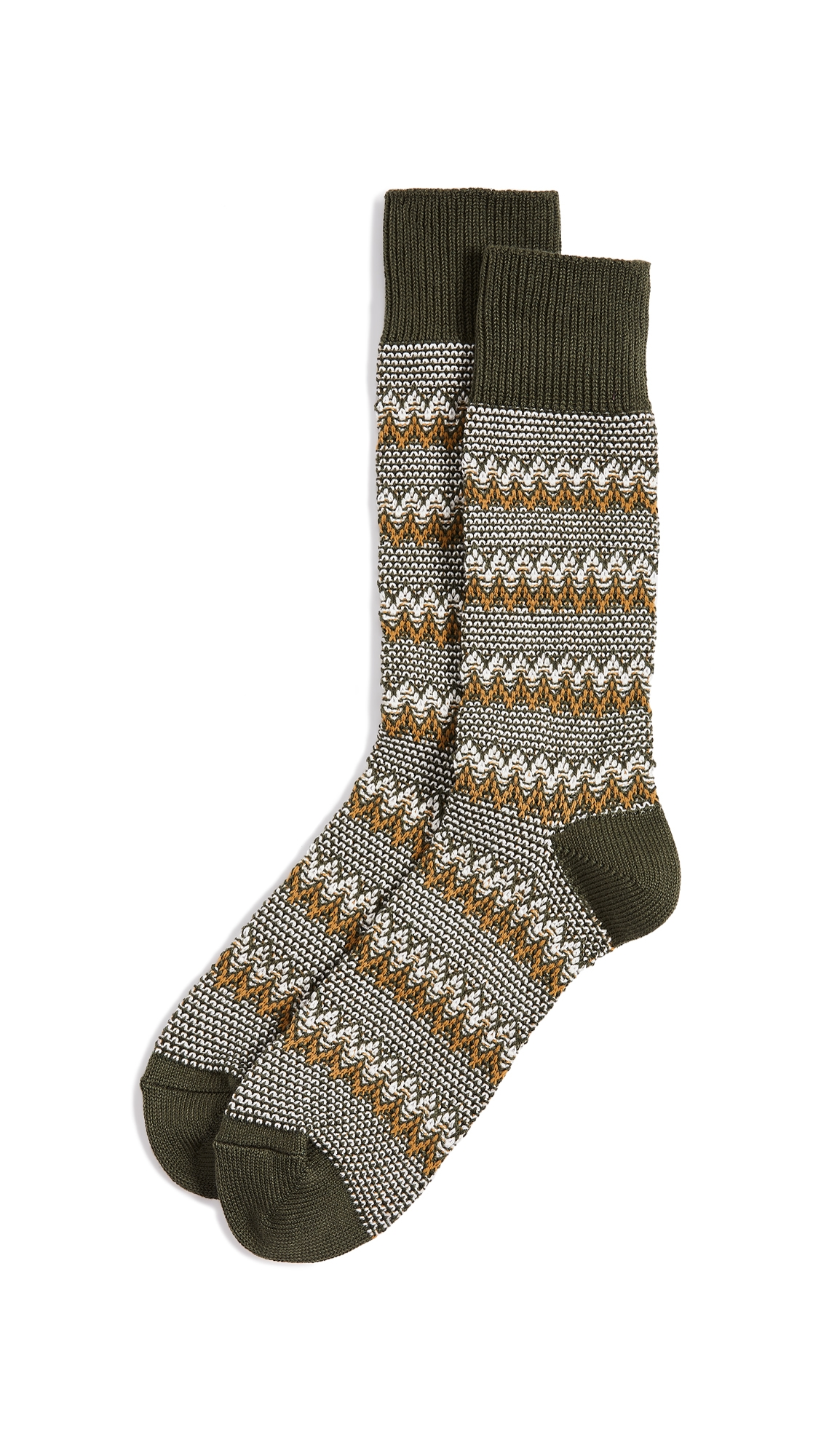 ANONYMOUS ISM ZIGZAG LINKS CREW SOCKS
