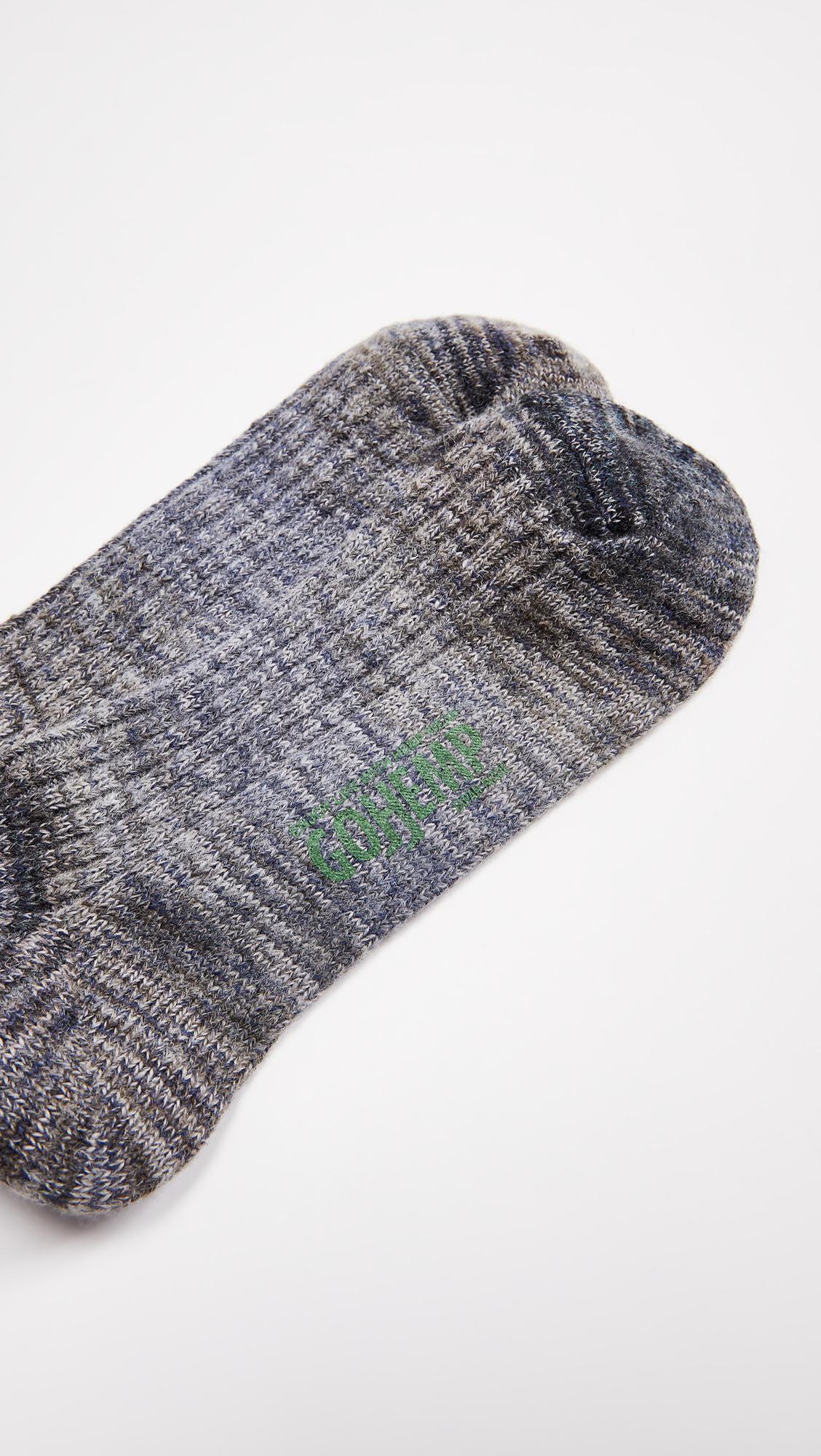 Go Hemp Splash Crew Socks