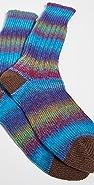 Anonymous Ism Stripe Crew Socks