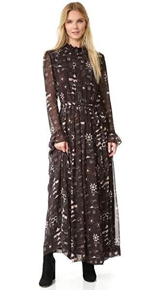 Antik Batik Chain Long Dress
