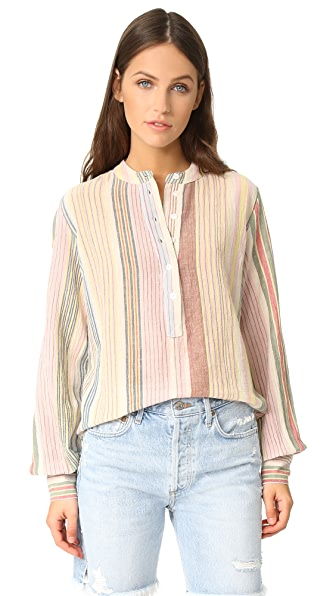 Antik Batik Casey Striped Shirt