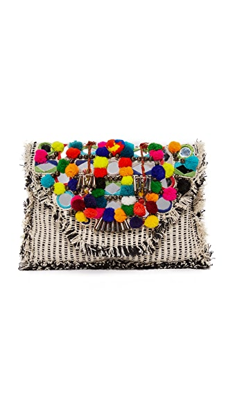 Antik Batik Udipi Clutch - Multico