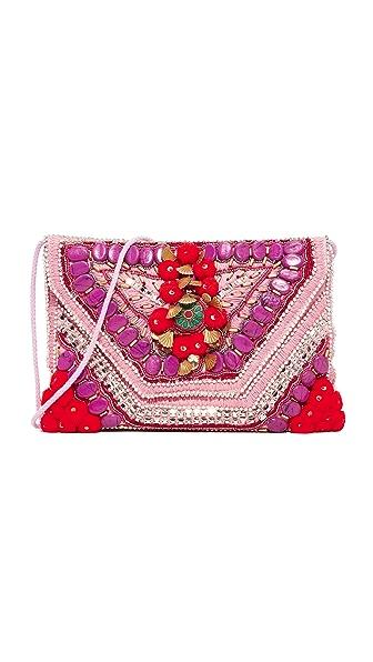 Antik Batik Cuszco Clutch - Pink