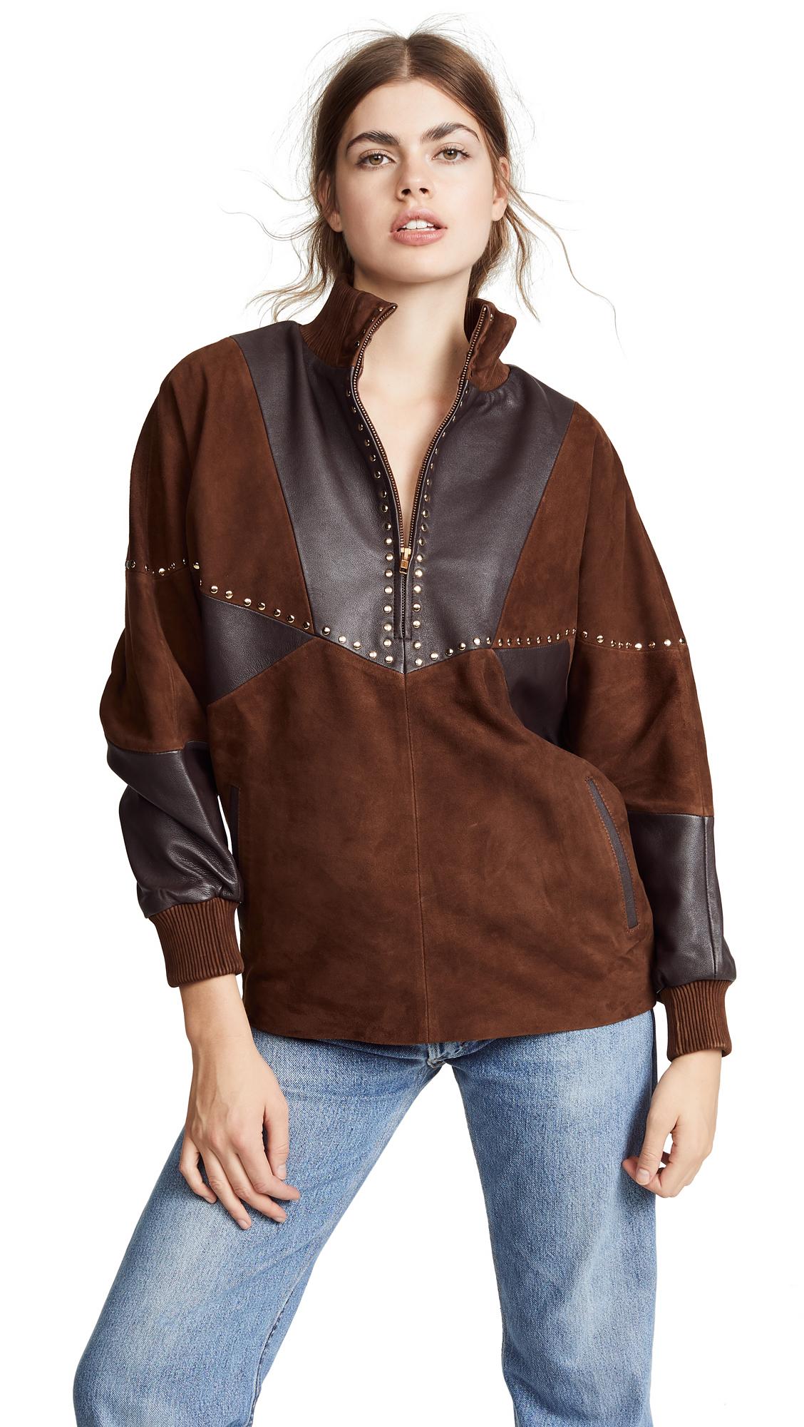 ANTIK BATIK Kaira Jacket in Brown