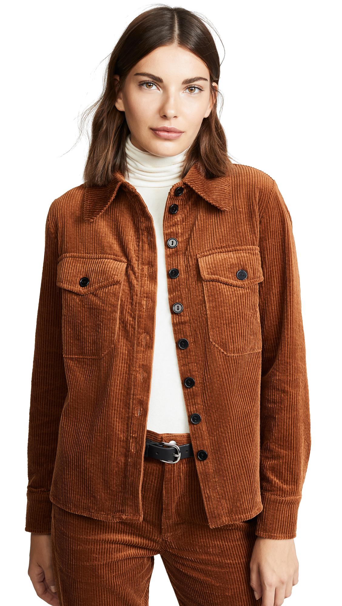 ANTIK BATIK Papy Jacket in Brown
