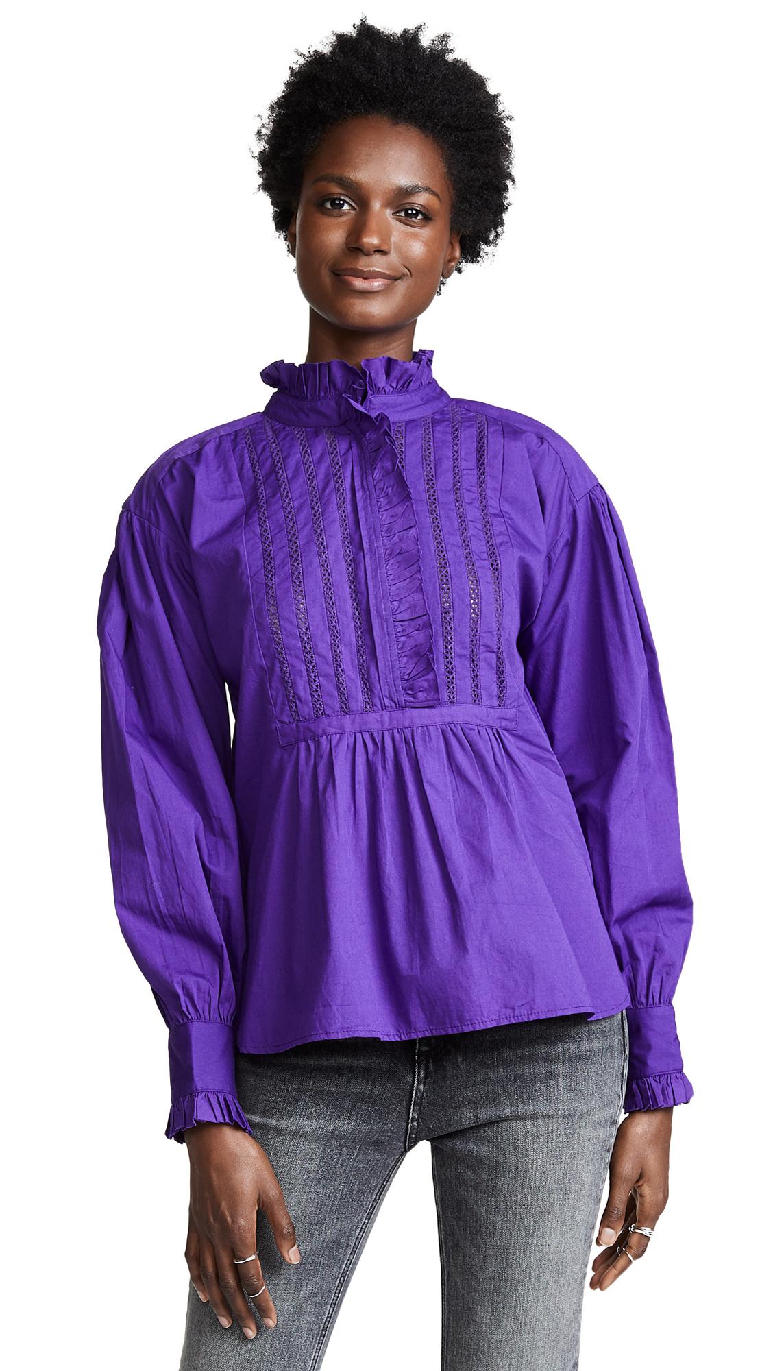 ANTIK BATIK Taury Top in Purple