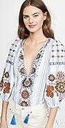 Antik Batik Camilla 女式衬衫