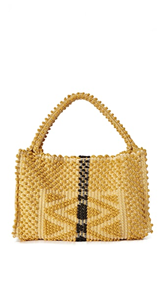 Antonello Montesantu Bag - Mustard/ Black