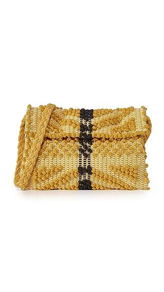Antonello Suni Rombi Cross Body Bag - Mustard