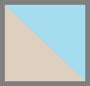 Turquoise/Cream