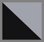 черный/светло-серый