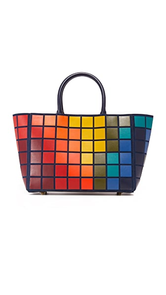 Anya Hindmarch Ebury Small Giant Pixels Tote