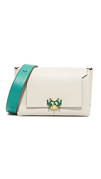 Anya Hindmarch Bathurst Invader Cross Body Bag - Slate