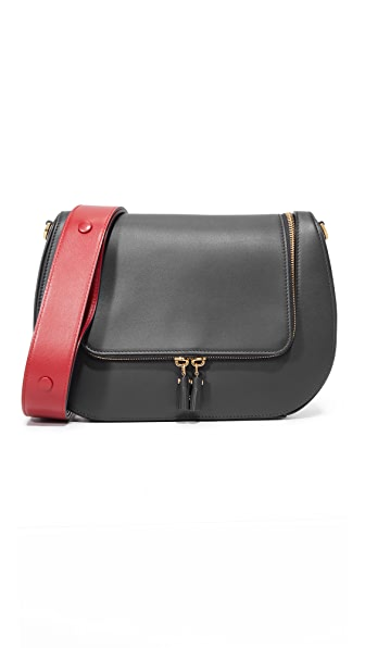 Anya Hindmarch Vere Saddle Bag - Black