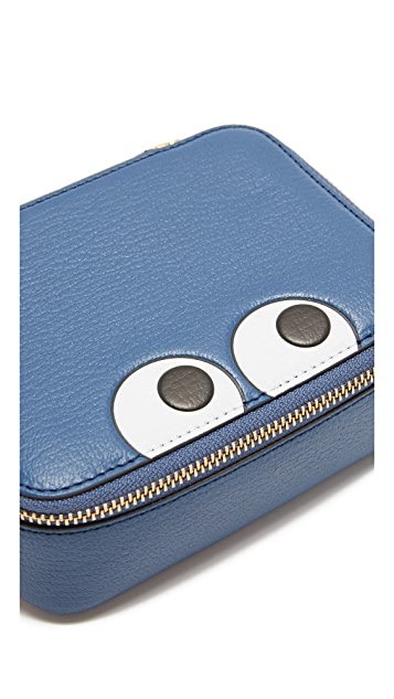 Anya Hindmarch Keepsake Pouch with Eyes