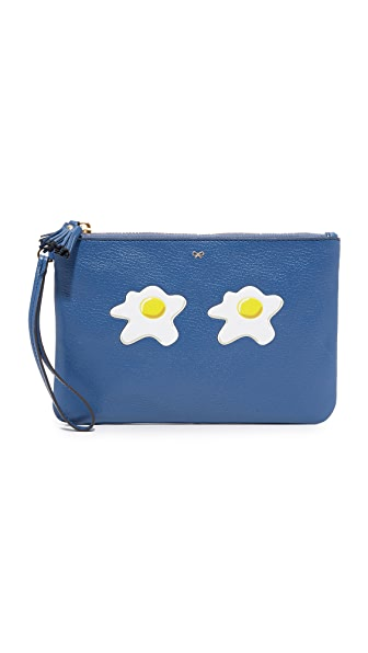 Anya Hindmarch Eggs Wristlet