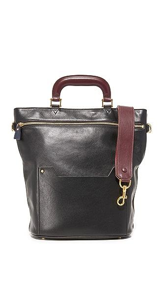 Anya Hindmarch Orsett Top Handle Bag In Black