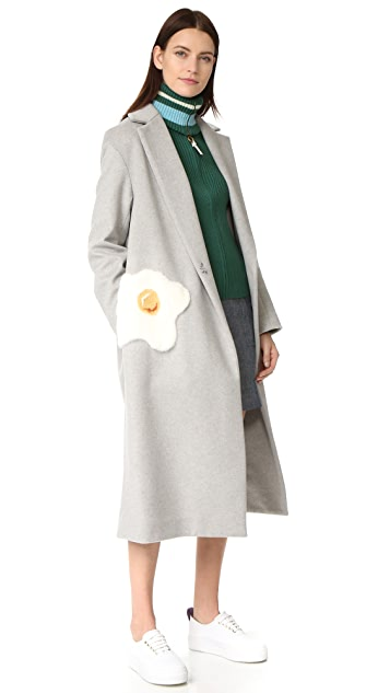 Anya Hindmarch Oversized Egg Coat