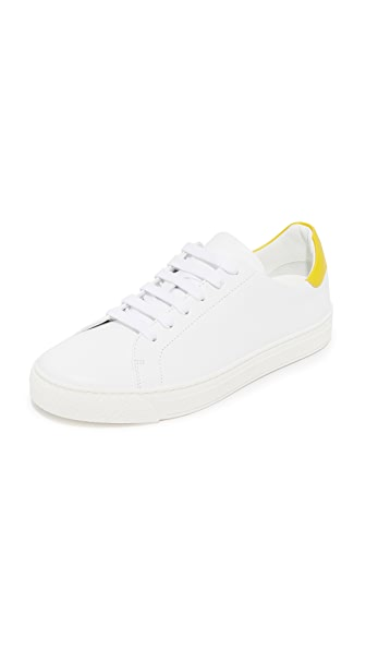Anya Hindmarch Tennis Shoe All Over Wink Sneakers - White