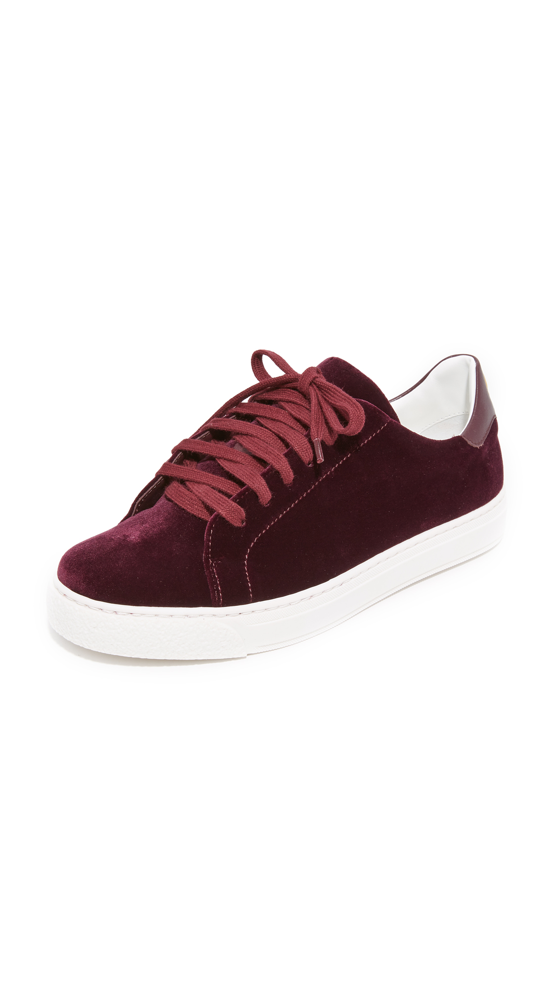 Anya Hindmarch Tennis Shoe Wink Sneakers - Burgundy at Shopbop