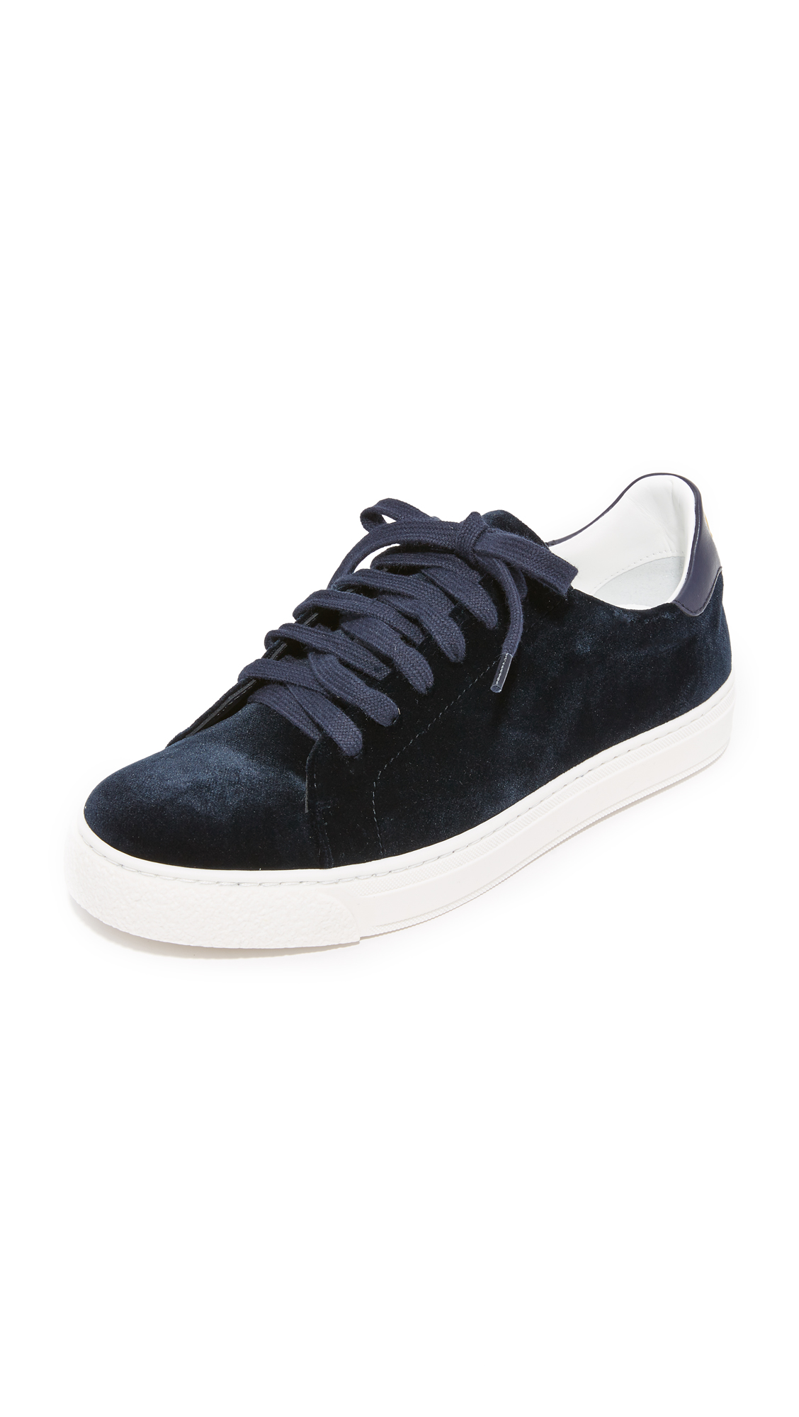 Anya Hindmarch Tennis Shoe Wink Sneakers - Indigo at Shopbop