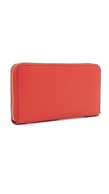 Anya Hindmarch Large Zip Round Wallet