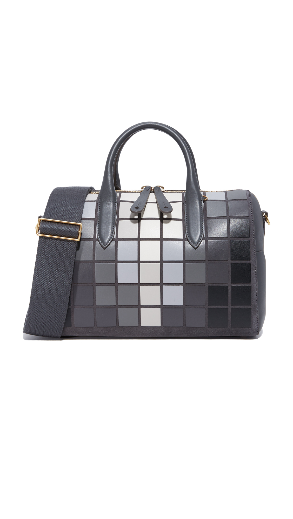 Anya Hindmarch Vere Barrel Handbag - Charcoal