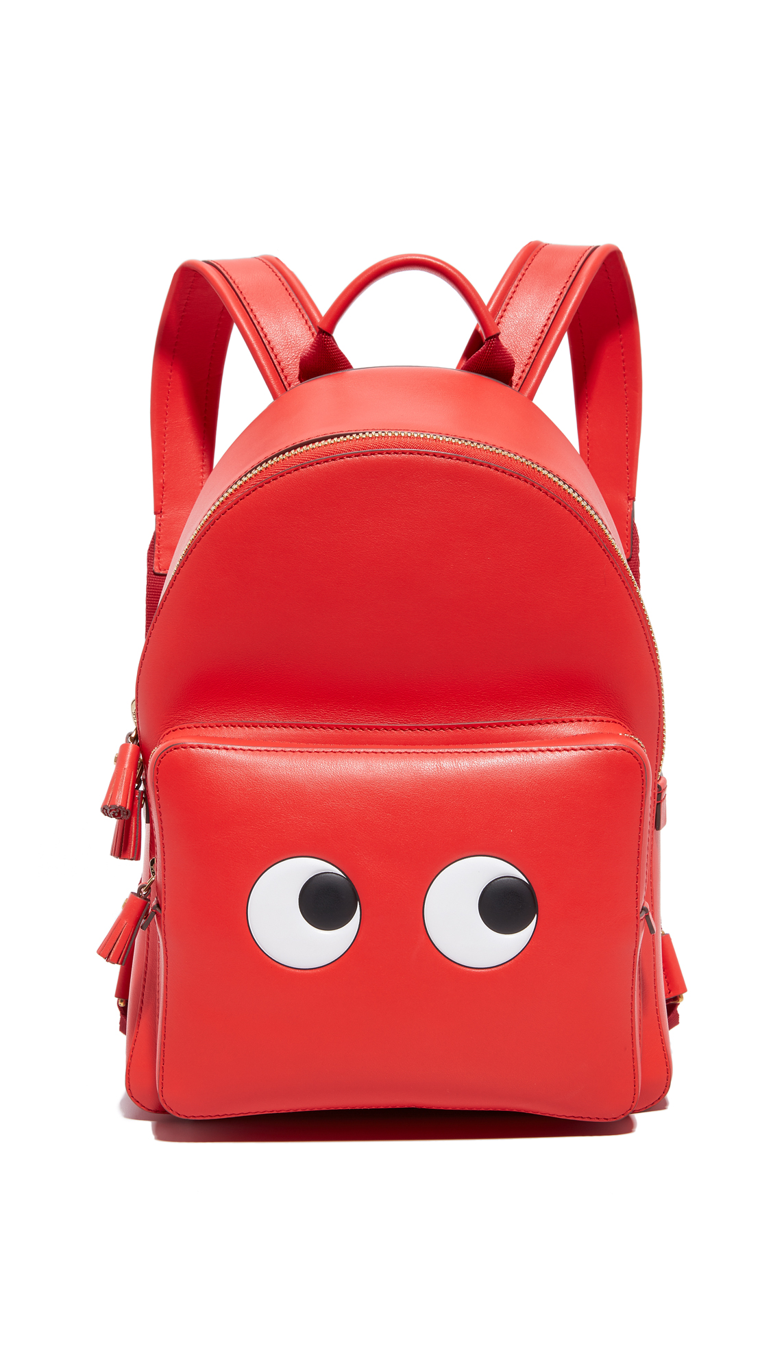 Anya Hindmarch Mini Eyes Backpack - Geisha Capra