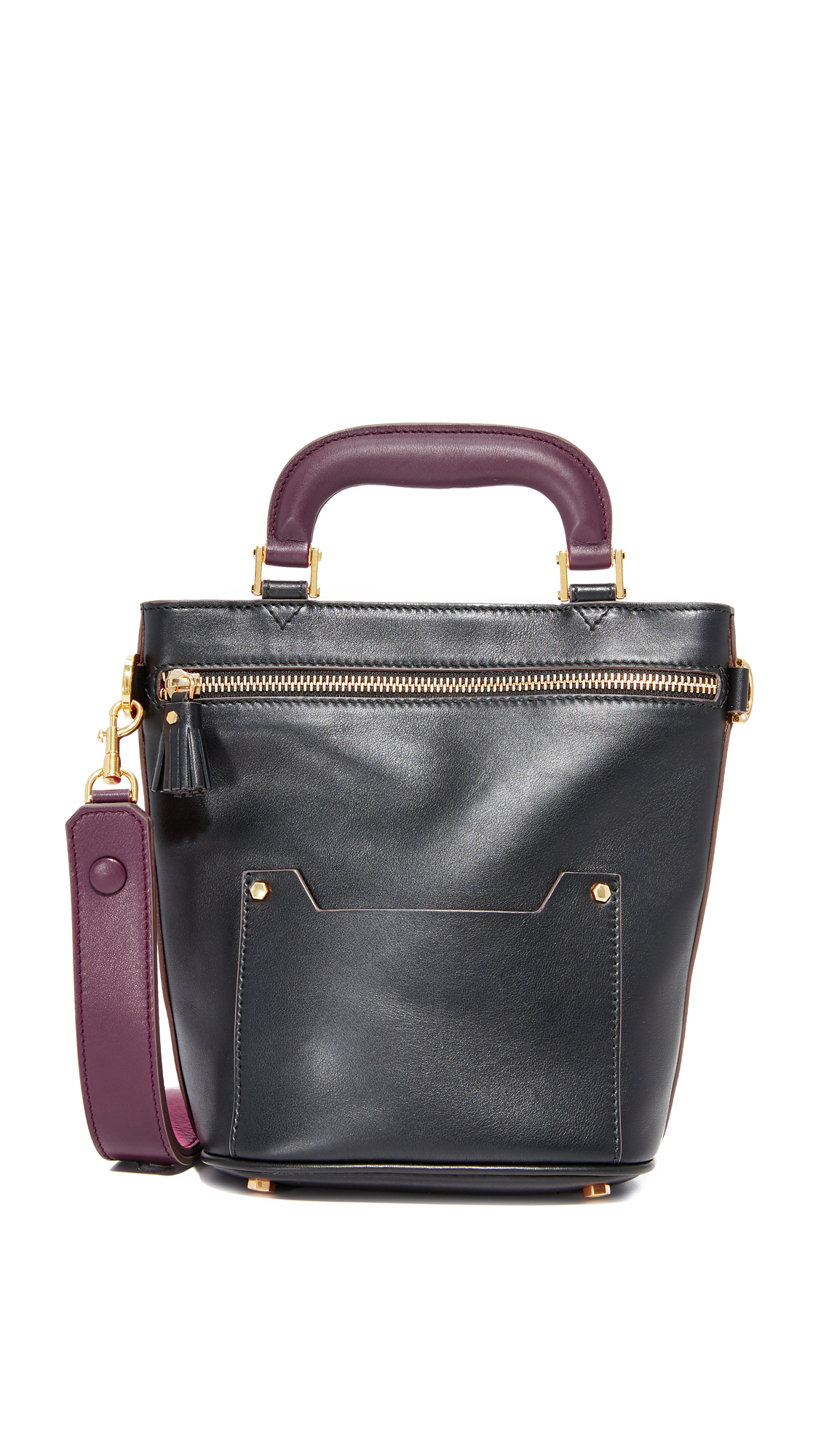 Anya Hindmarch Orsett Mini Top Handle Bag - Black