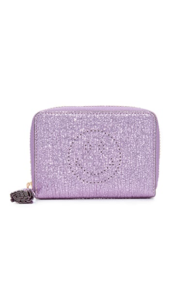 Anya Hindmarch Smiley Small Wallet
