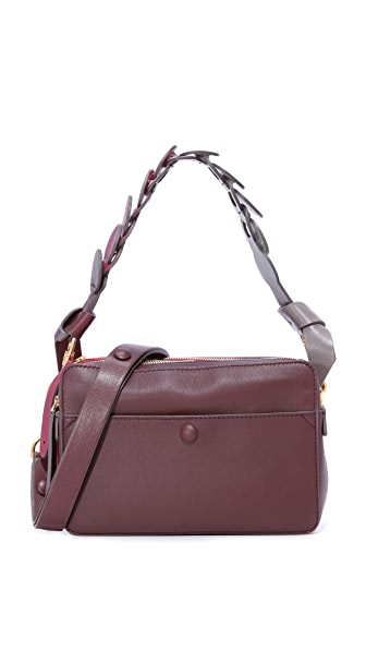 Anya Hindmarch Stack Cross Body Bag - Claret