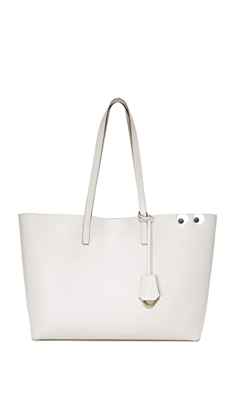 Anya Hindmarch Circus Eyes Shopper Tote - Steam