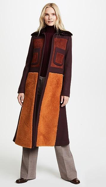 anya hindmarch long u002770s coat