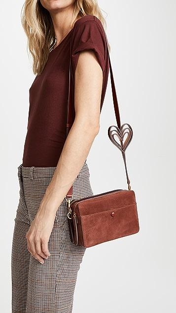 Anya Hindmarch Heart Cross Body Bag