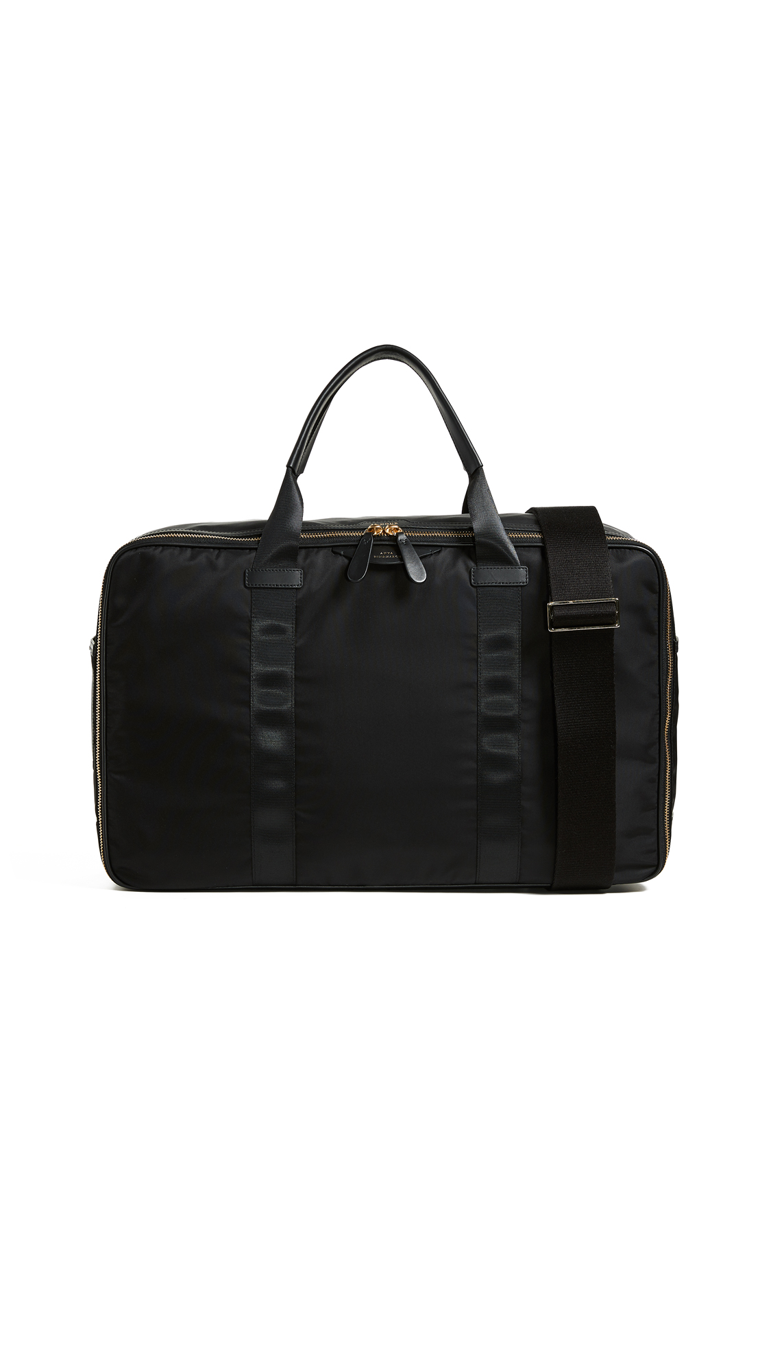 ANYA HINDMARCH Soft Suitcase, Black