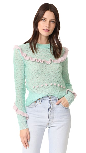 Anna October Ruffled Sweater