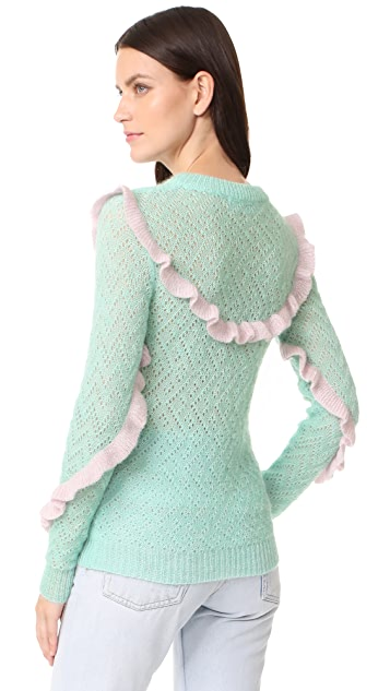 Anna October Ruffled Sweater