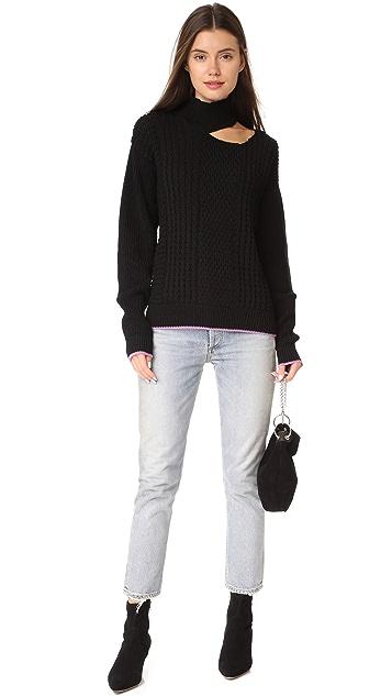 Anna October Slash Shoulder Sweater