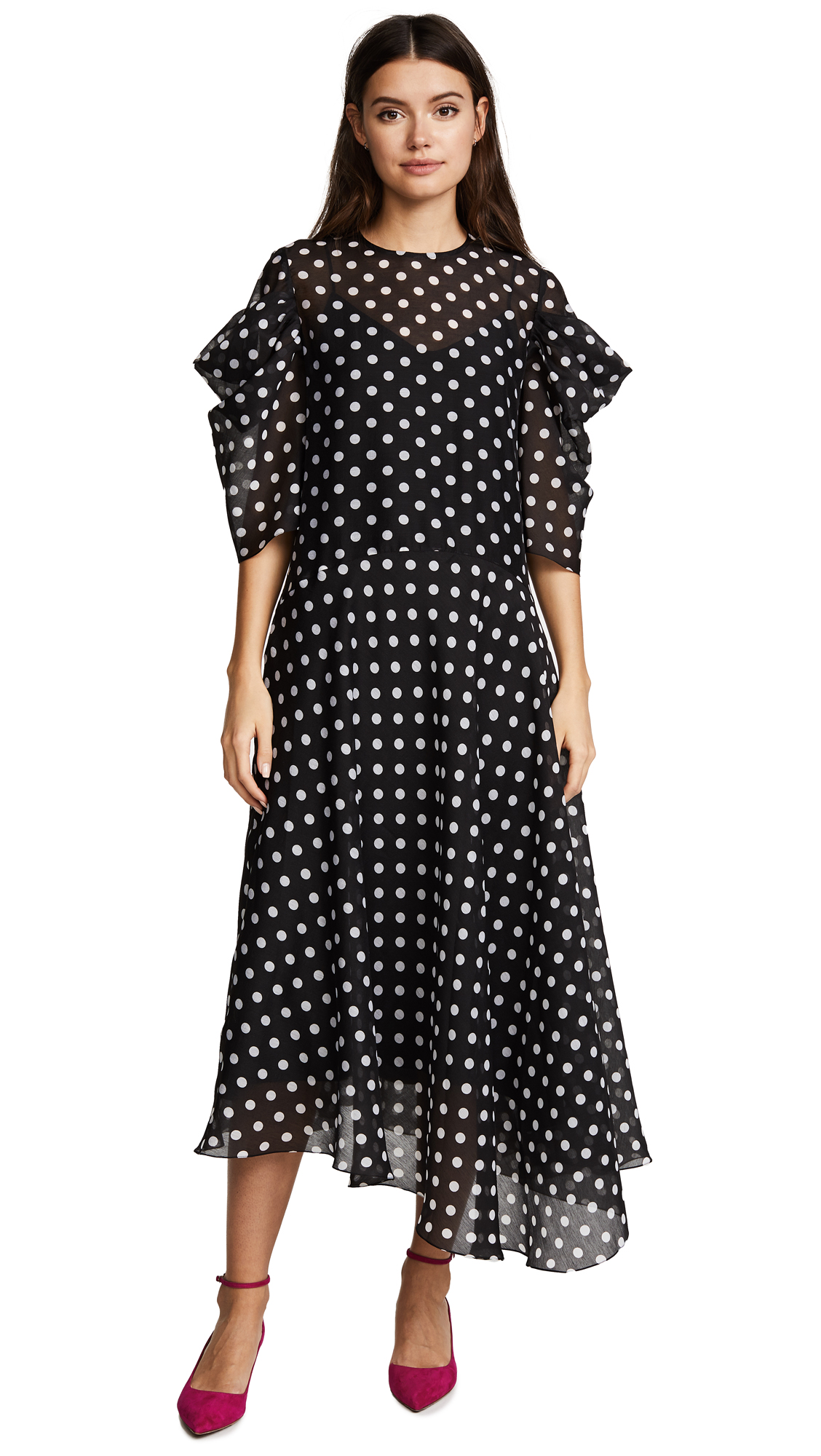 Anna October Polka Dot Dress