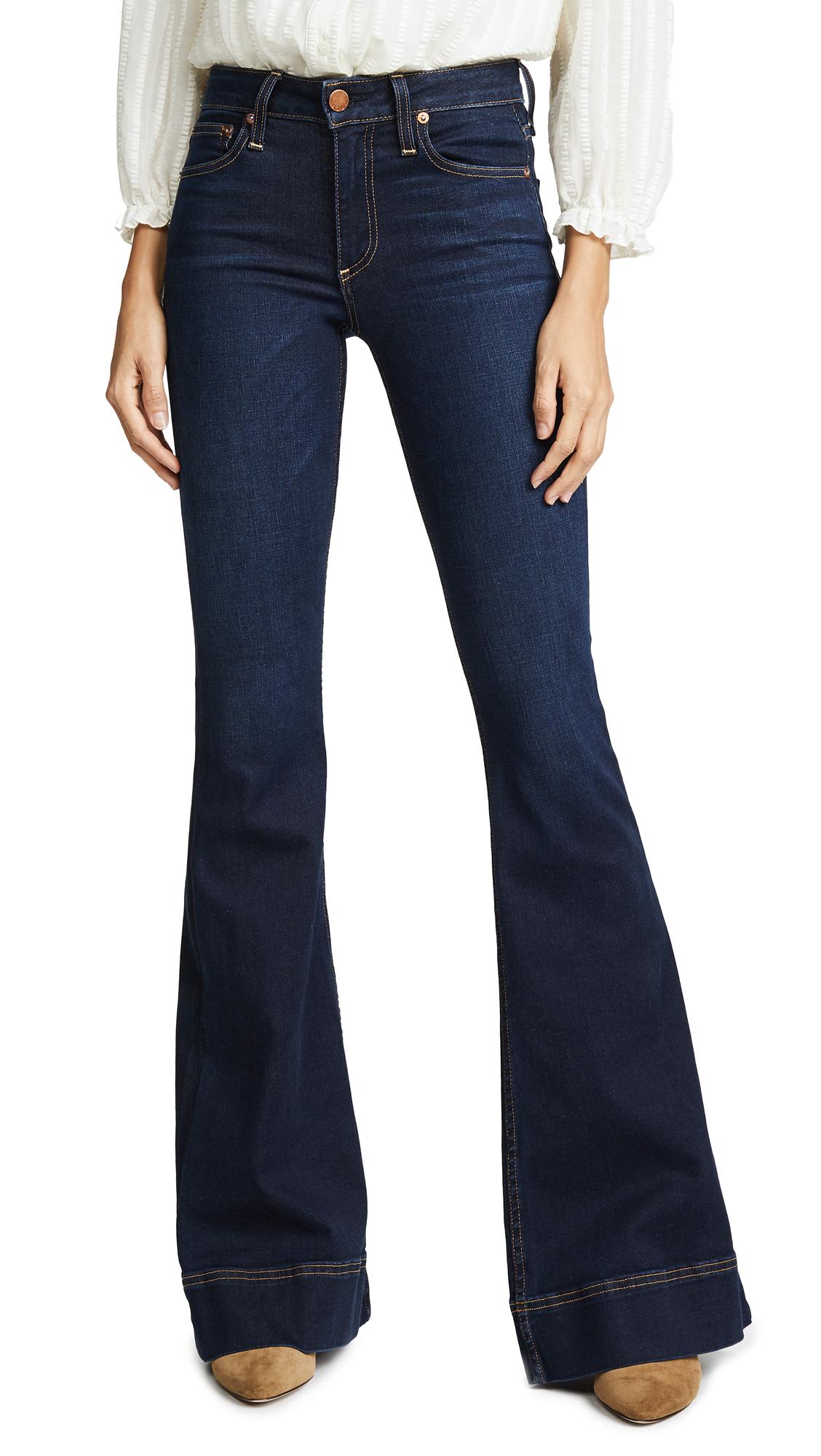 AO. LA by alice + olivia Beautiful Bell Jeans