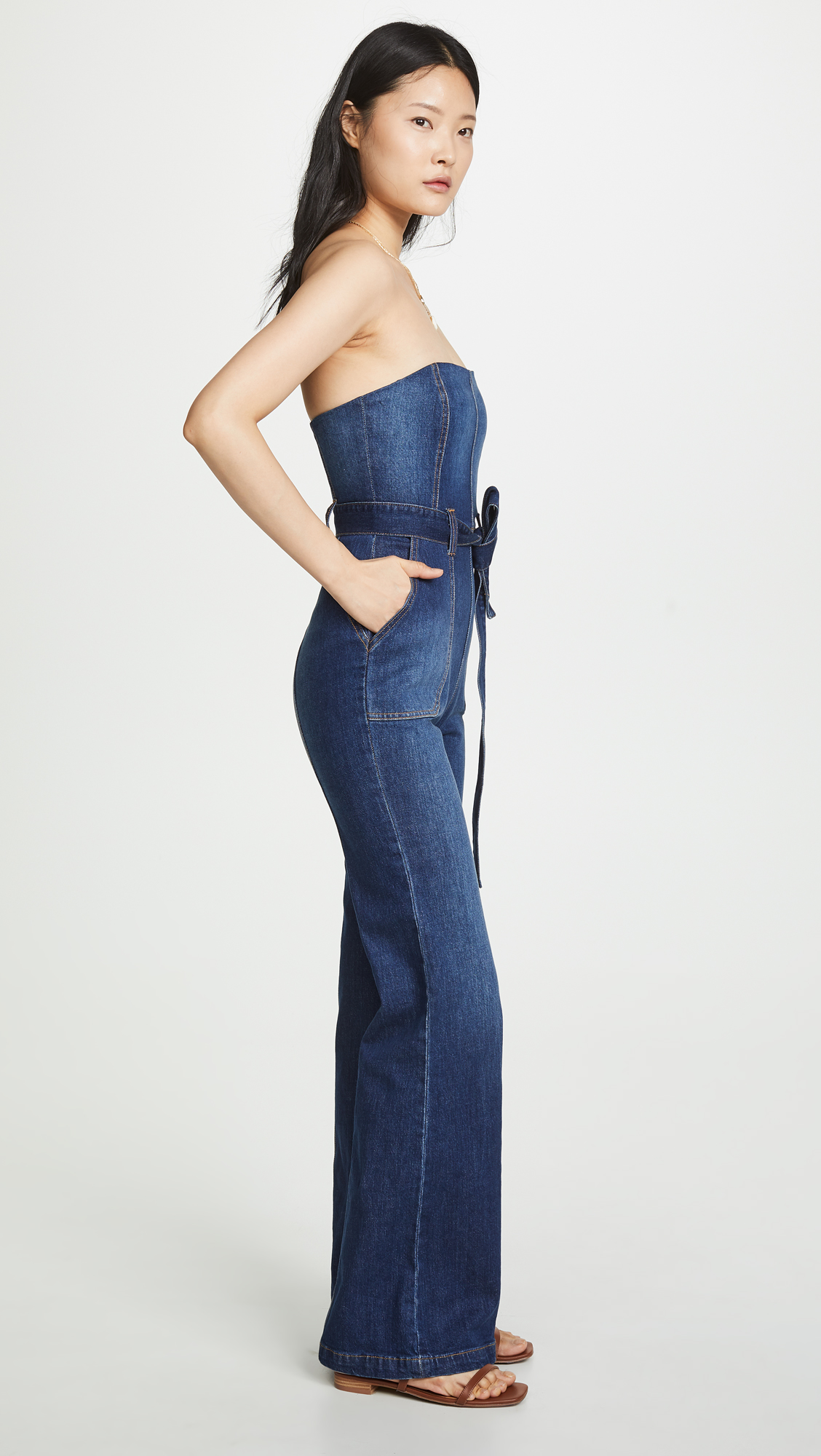 46c0e5f2c5f ALICE + OLIVIA JEANS Gorgeous Susy Jumpsuit