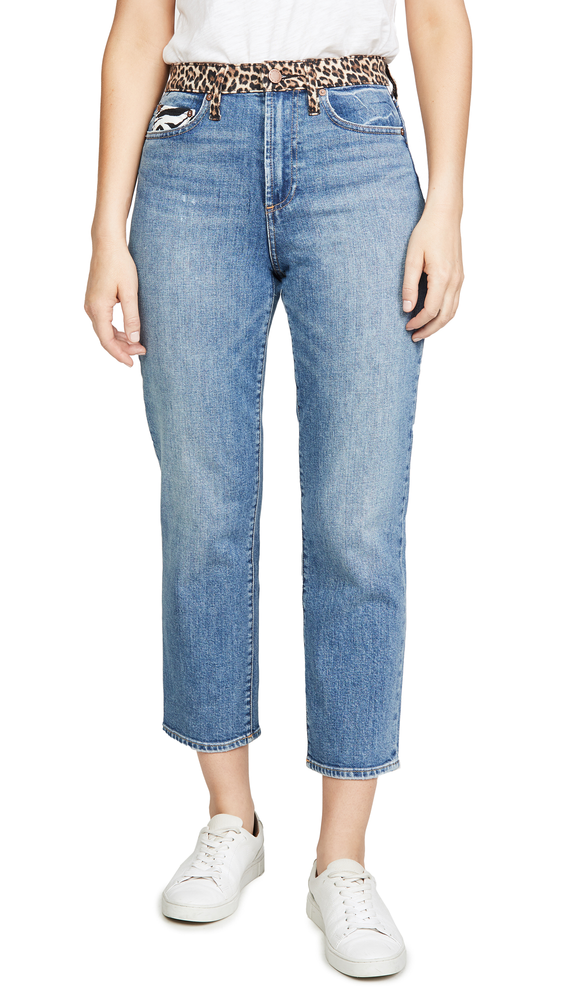 Buy ALICE + OLIVIA JEANS online - photo of ALICE + OLIVIA JEANS Amazing High Rise Girlfriend Jeans