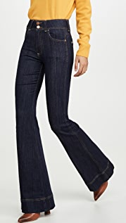 ALICE + OLIVIA JEANS Beautiful High Rise Jeans